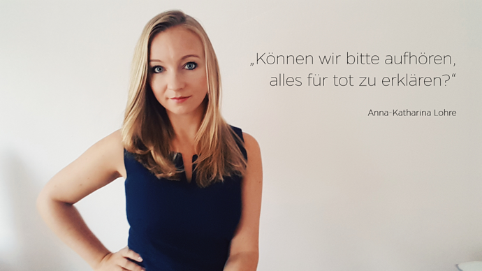 Anna-Katharina Lohre - Statement